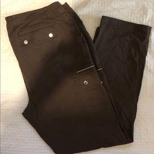 Michael Kors Women 18W Stretch Polyester Pant